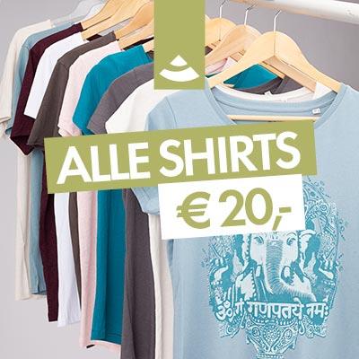 Alle Shirts von Bodhi sind im Sale und kosten aktuell nur € 20,-