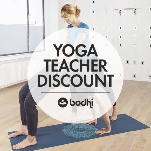 Yoga Teacher discount - bodynova.de