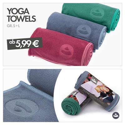 Yoga Towels von bodhi | Im Angebot für begrenzte Zeit