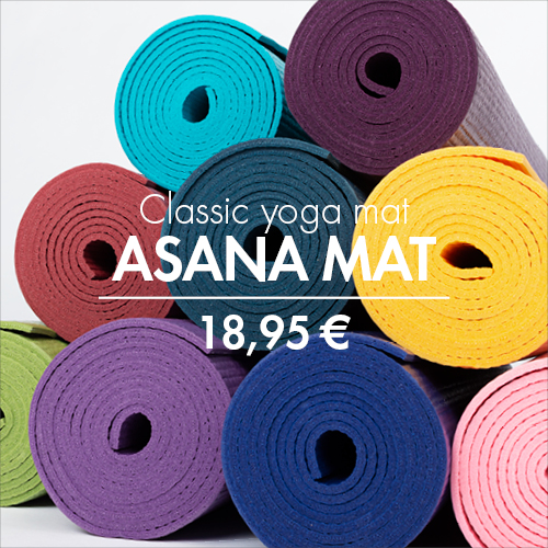 Our classical yoga mat for beginners | asana mat by bodhi