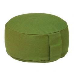 Coussin de méditation RONDO BASIC vert olive | épeautre