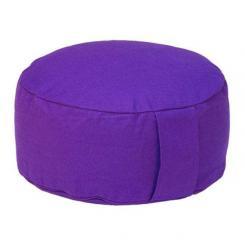 Coussin de méditation RONDO BASIC violet | kapok
