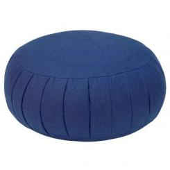 Meditation cushion ZAFU BASIC dark blue | spelt hull