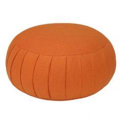 Meditationskissen ZAFU BASIC orange | Dinkel