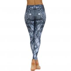 Niyama Leggings Yin and Yang Black