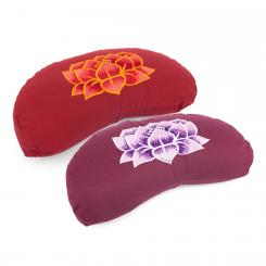 Meditation cushion YOGI MOND ECO | with embroidery: Lotus