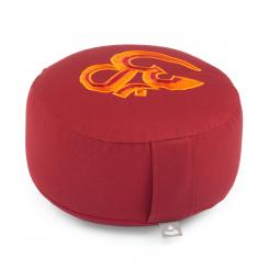 Meditation cushion RONDO ECO | with embroidery: OM