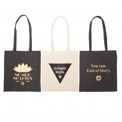 Bodhi Cotton Shopping Bag, with print
