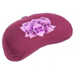 Meditationskissen YOGI MOND BASIC - Lotus aubergine