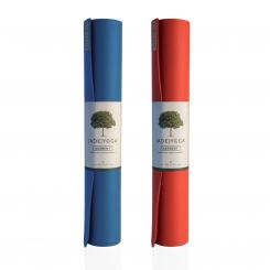 Yoga mat Jade Two Tone  | natural rubber