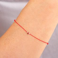 Bracelet Chakra Grenat - chakra racine (rouge)