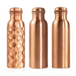 Copper bottle, 800 ml