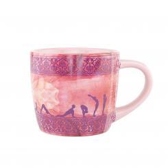 bodhi YogiMug Ceramic Mug Sun Salutation