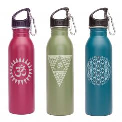 Stainless Steel Bottle with design, 700 ml