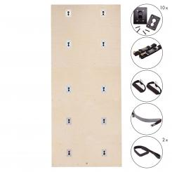 Yoga Wall Set | Birke lackiert