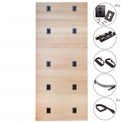 Yoga Wall Set | oak, oiled