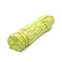 Maharaja Collection: ASANA BAG COTTON Shimla, lime green | 60 cm