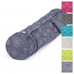 Maharaja Collection: Yogatasche ASANA BAG COTTON Mandala, dunkelblau | 70 cm