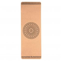 Yoga mat Cork, ETHNO MANDALA