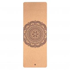 Yoga mat Cork, MANDALA two-tone