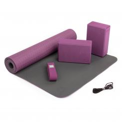 Kit de yoga FLOW violet