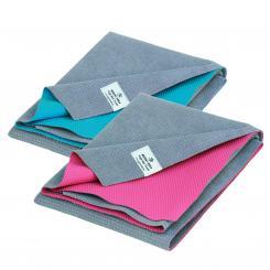 YATRA, serviette et tapis de yoga, en microfibre, revêtement en TPE