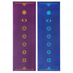 Design Yogamatte CHAKREN, The Leela Collection