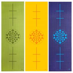 Design yoga mat YANTRA/ALIGNMENT, The Leela Collection