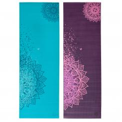 Tapis de yoga design MANTRA BICOLORE, The Leela Collection
