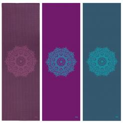 Tapis de yoga design MANDALA, The Leela Collection