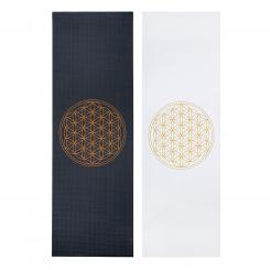 Design yoga mat FLOWER OF LIFE, The Leela Collection
