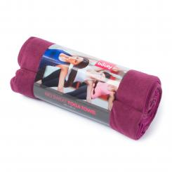 Serviette de yoga NO SWEAT L aubergine