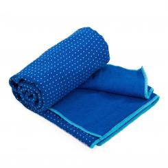 Yoga TOWEL GRIP² bicolor blue/aqua