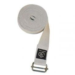 Yogagurt ASANA BELT PRO, 3m x 38mm, metall natur