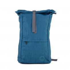 Urban Yogi Rolltop Rucksack, dunkelblau meliert