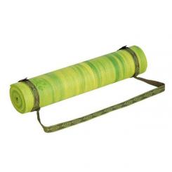 Yoga mat carrying strap olive green
