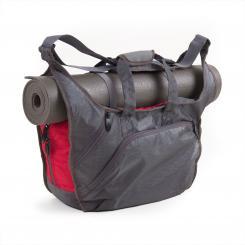 bodhi sac de yoga NATARAJ gris/rouge