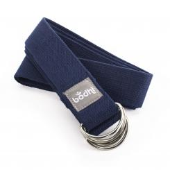 Yoga strap Yamala 2 in 1, cotton blue