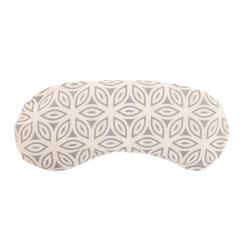 Cotton eye-pillow, vegan ecru/grey (Lotos)