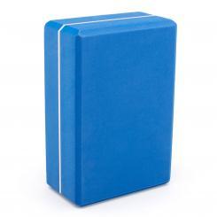 Brique de yoga ASANA XXL (en mousse EVA) bleu cobalt