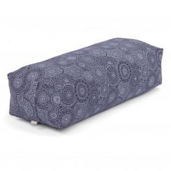 Maharaja Collection: SALAMBA Bolster, 64 x 25 x 17 cm Mandala, dark blue | Kapok