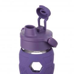 Trinkflasche aus Glas 650 ml - Flip Top