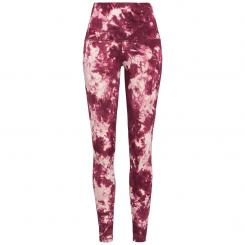 Lilikoi Yoga Leggings, Pink Ink