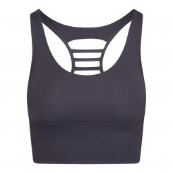 KAIA Damen Sport BH, cool grey