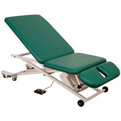 Massage table PT 300 scissor-lift / 3-piece top
