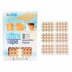 AcuTop Cross Tape, beige type B, 20 x 6 pièces
