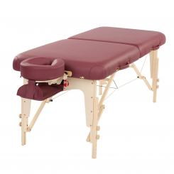 Massage table TAOline BALANCE II 76 cm burgundy