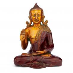 Buddha Statue, Zweifarbig, ca. 25 cm