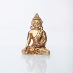 Buddha Statue, Messing ca. 8 cm