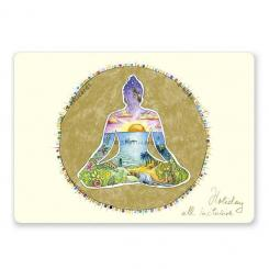 "Yoga Postcard ""Holiday all Inclusive"""